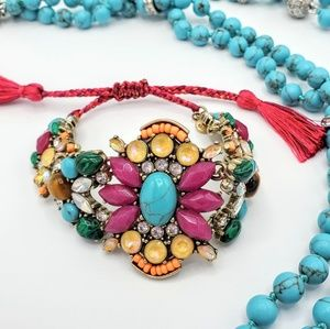 Colorful Statement Bracelet